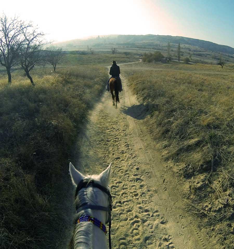 ruta a caballo por la vera